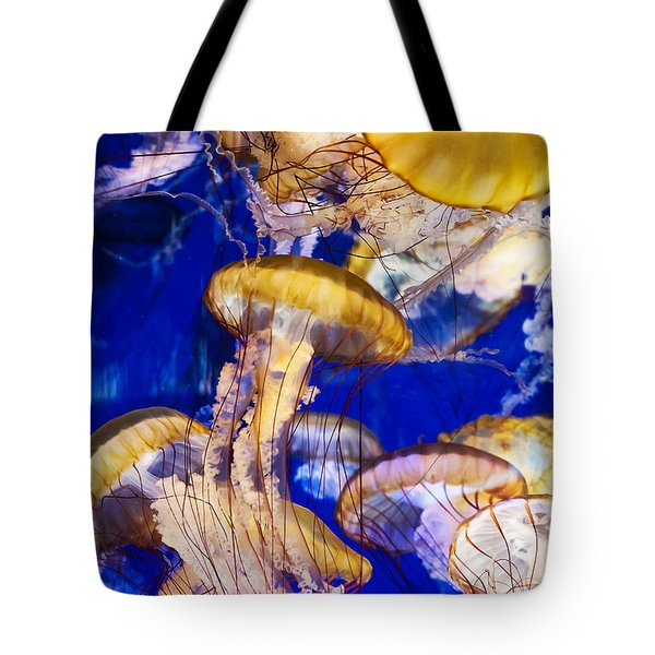 A Swarm Of Jellies Tote Bag