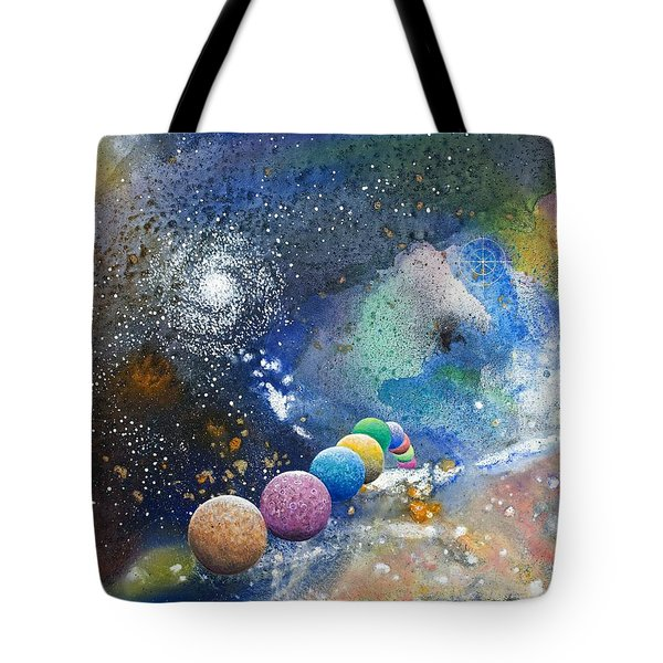 A Sweet Dance In The Heart Of God Tote Bag by Lee Pantas