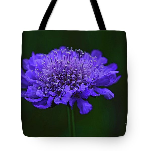 A Sweet Scabiosa Tote Bag