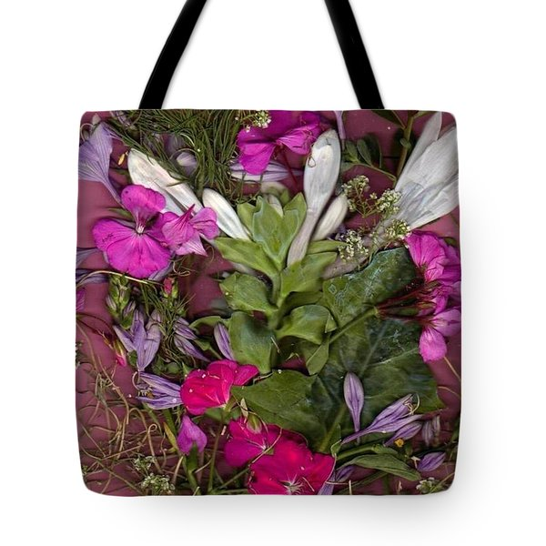 A Symphony Of Flowers Tote Bag