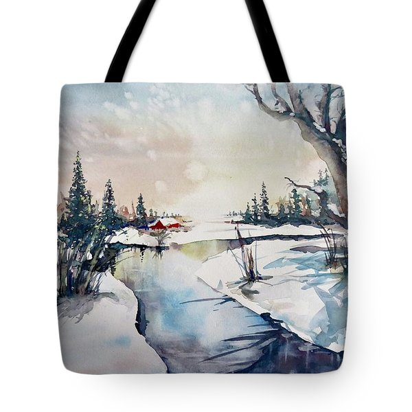 A Taste Of Winter Tote Bag