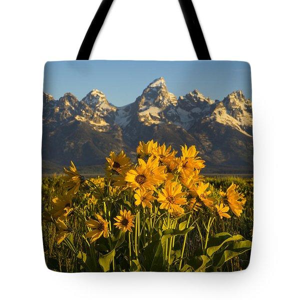 A Teton Spring Tote Bag