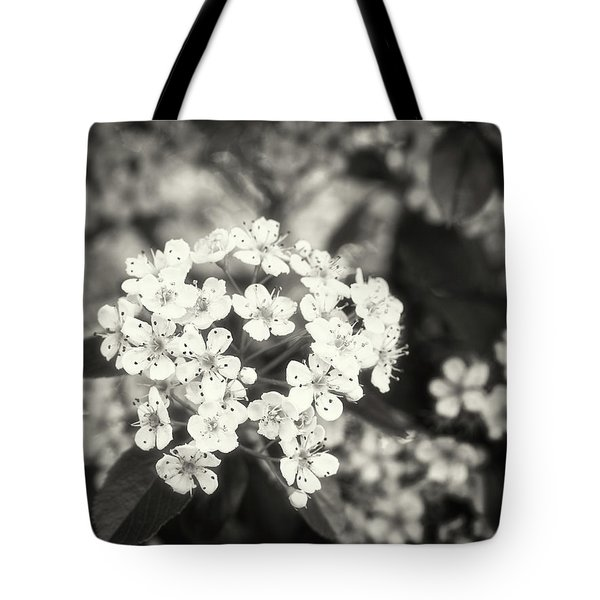 A Thousand Blossoms In Sepia 3x4 Flipped Tote Bag