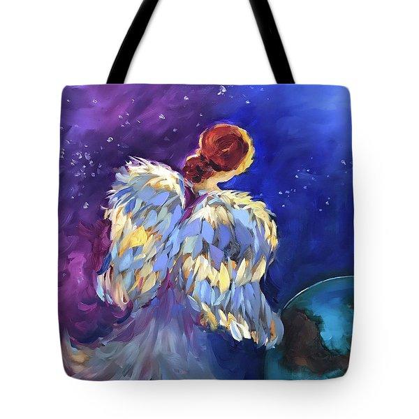 A Thousand Hearts - Earth Angel Tote Bag