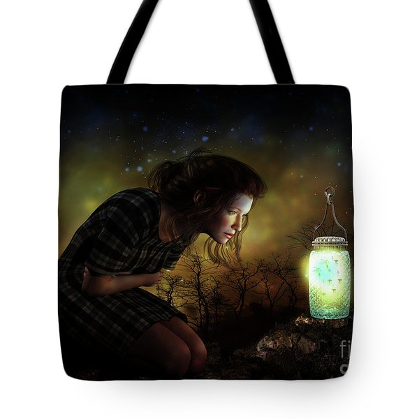 Tote Bag featuring the digital art A Thousand Hugs by Shanina Conway