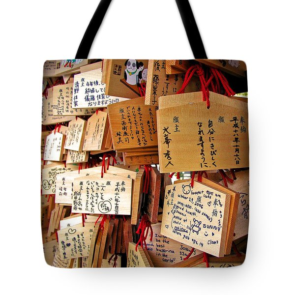 A Thousand Prayers Tote Bag