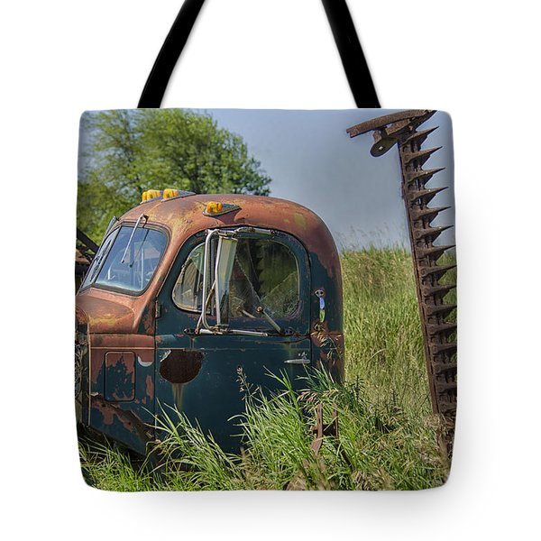 Tote Bag featuring the photograph A Time Gone By by JRP Photography