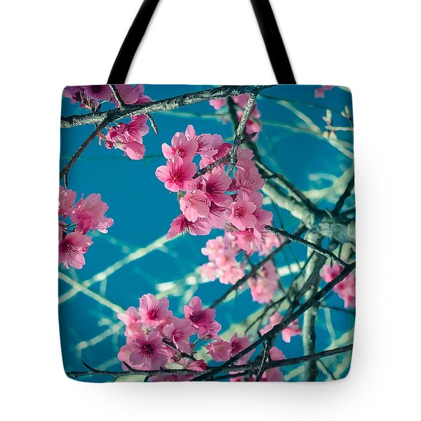 A Time To Blossom Tote Bag by Karen Musick