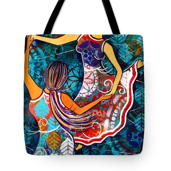 A Time To Dance Tote Bag