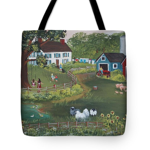 A Time To Play Tote Bag