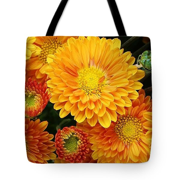 A Touch Of Autumn Tote Bag by Bruce Bley