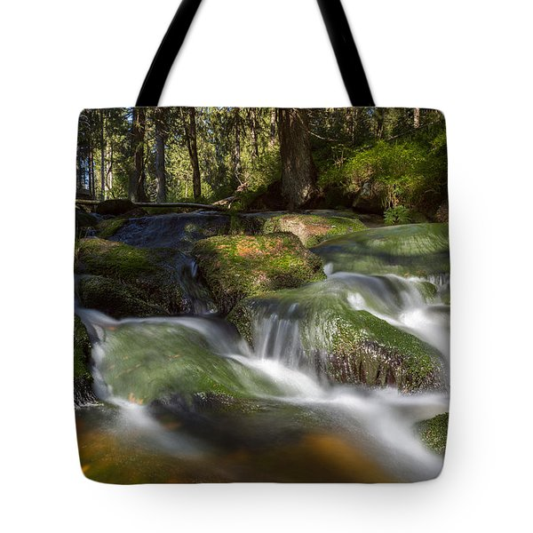 A Touch Of Light Tote Bag by Andreas Levi