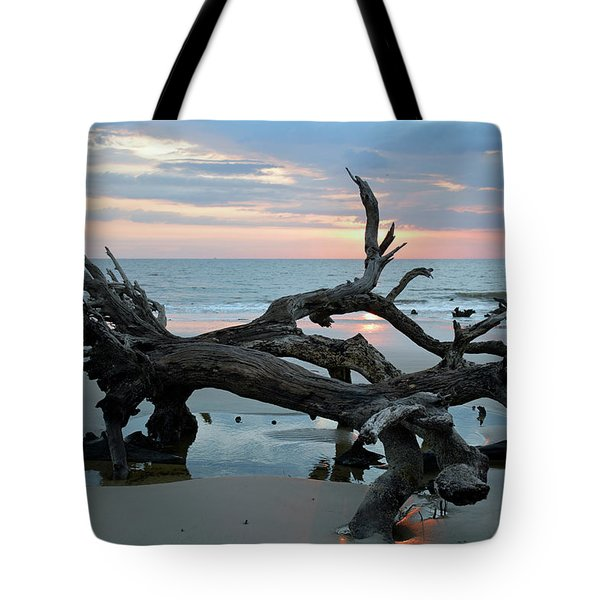 A Touch Of Morning Glory Tote Bag by Bruce Gourley