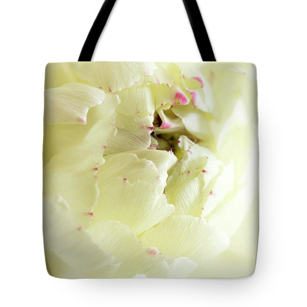 Tote Bag featuring the photograph A Touch Of Pink by Wendy Wilton