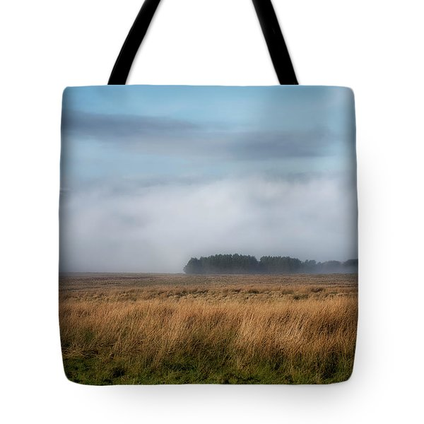 Tote Bag featuring the photograph A Touch Of Snow by Jeremy Lavender Photography