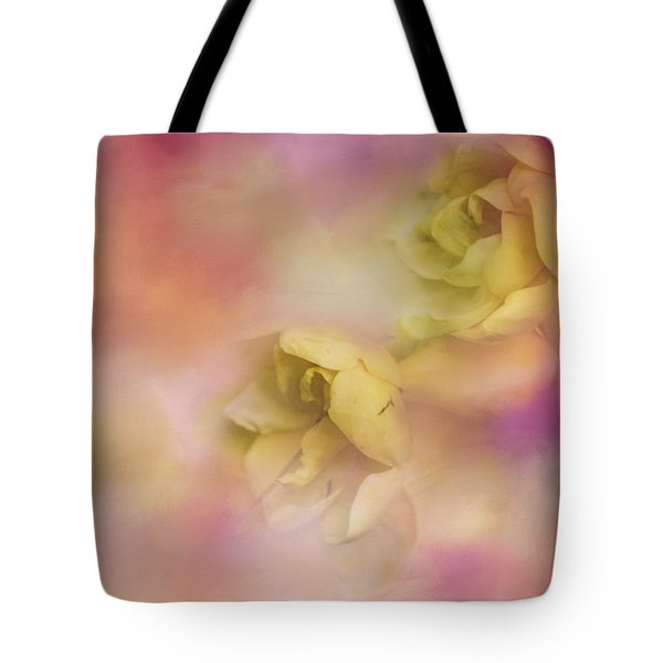 A Touch Of Spring Flower Art Tote Bag