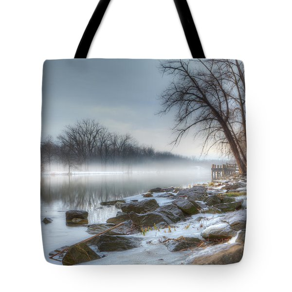 A Tranquil Evening Tote Bag by Everet Regal
