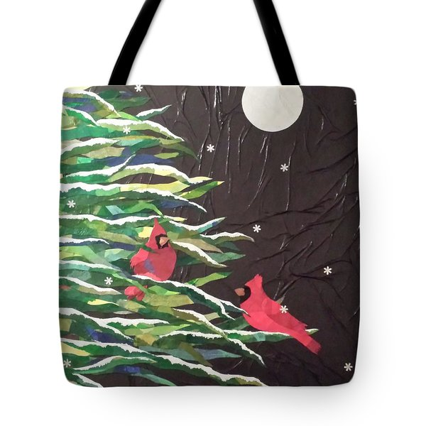 A Light Snowfall Tote Bag