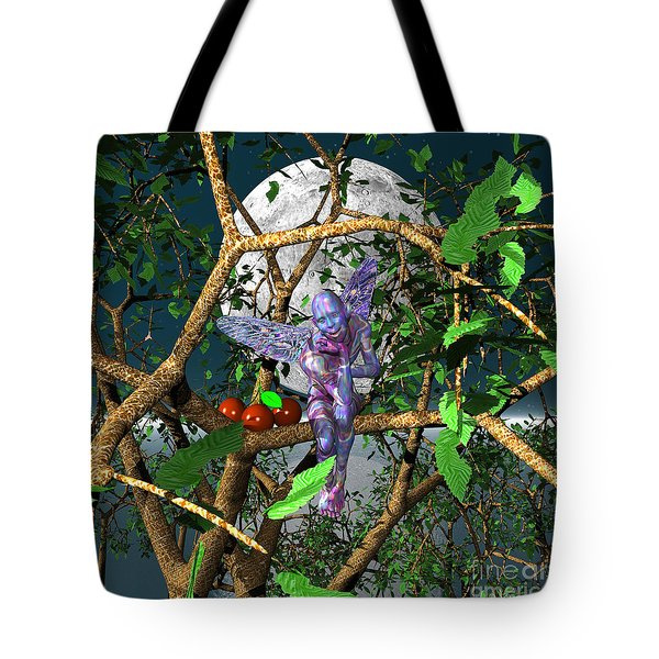 A Tree Fairy Tote Bag