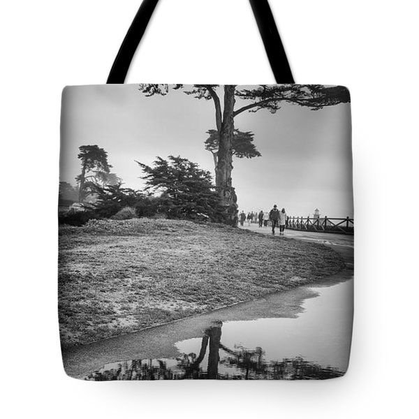 A Tree Stands Tall Tote Bag