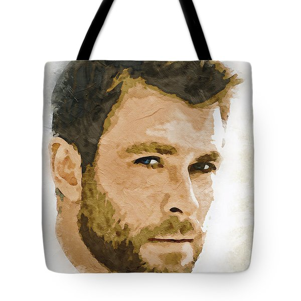 A Tribute To Chris Hemsworth Tote Bag