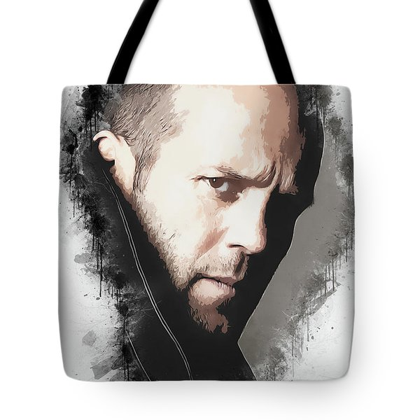 A Tribute To Jason Statham Tote Bag