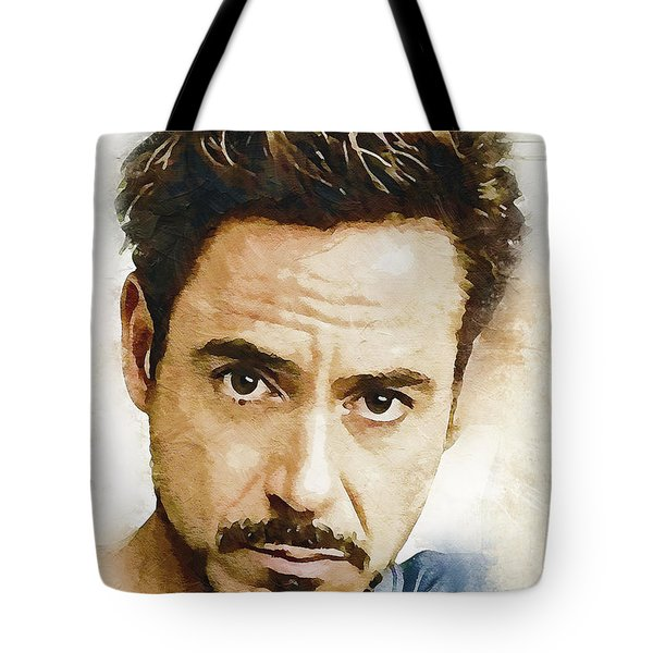 A Tribute To Robert Downey Jr. Tote Bag