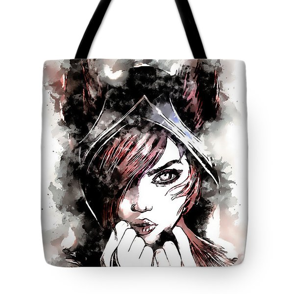 A Tribute To Xayah Tote Bag