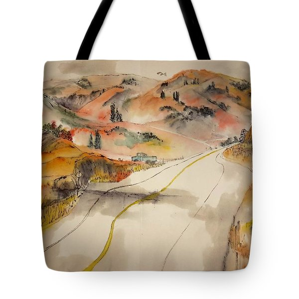 a trip to Lewistown  in Autumn  album Tote Bag