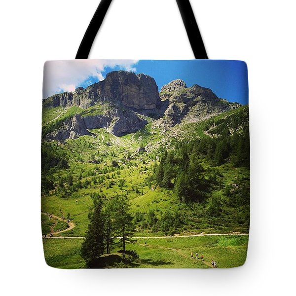 A Trip To Remember Tote Bag by Mihaela Raluca