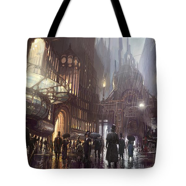A Trip To The Theatre Tote Bag