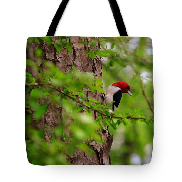 A True Red Head Tote Bag
