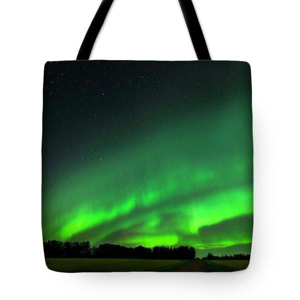 A Tsunami Of Green Tote Bag