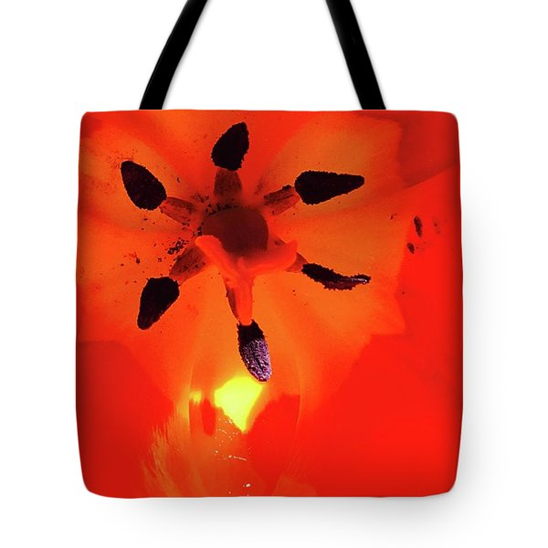 A Tulip's Secret Life Tote Bag