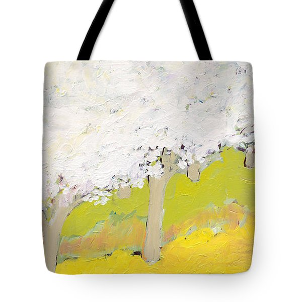 A Valley In Bloom Tote Bag