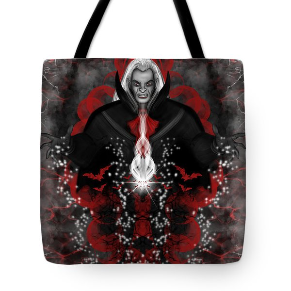A Vampire Quest Fantasy Art Tote Bag
