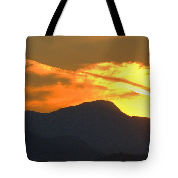 A Vancouver Sunset Tote Bag