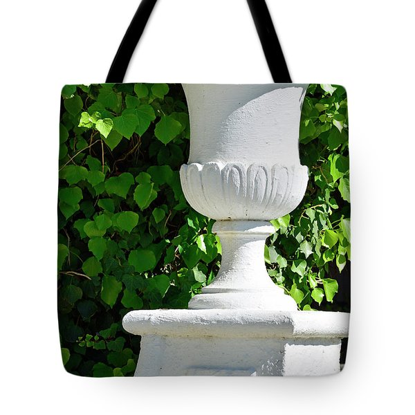 Tote Bag featuring the photograph A Vase Of Light And Shadows by Bruce Gourley
