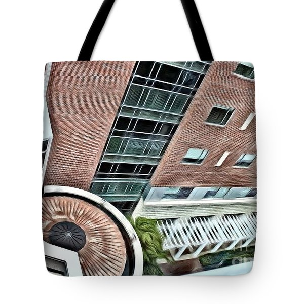 A Veiw From Above Tote Bag