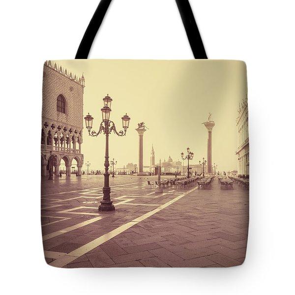 A Venice Morning Tote Bag