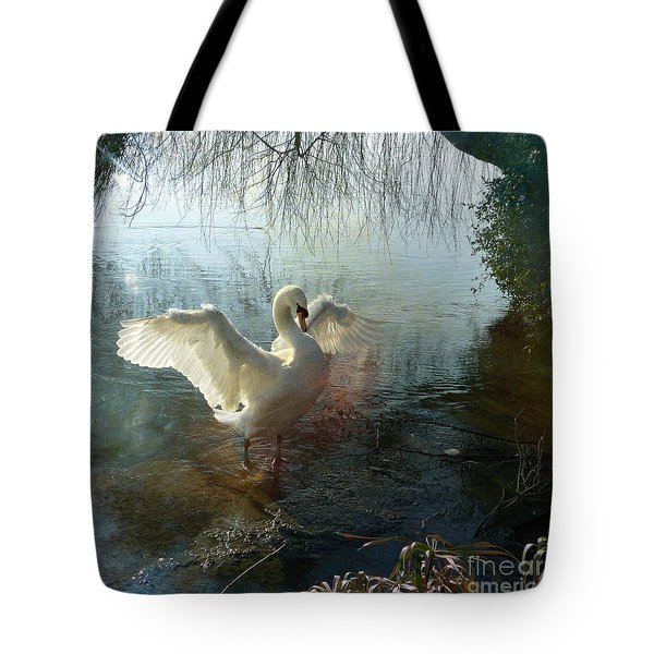 A Very Fine Swan Indeed Tote Bag