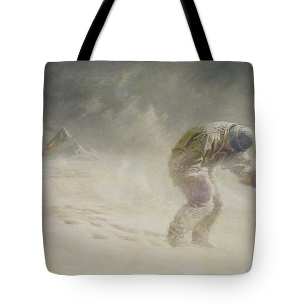 A Very Gallant Gentleman Tote Bag by John Charles Dollman