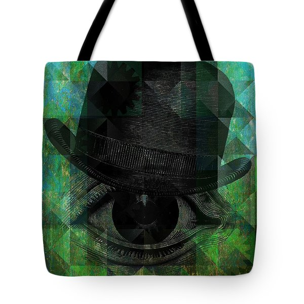 A Very Private Eye Tote Bag
