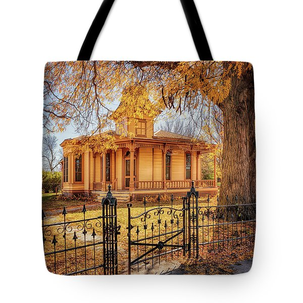 A Victorian Autumn Tote Bag