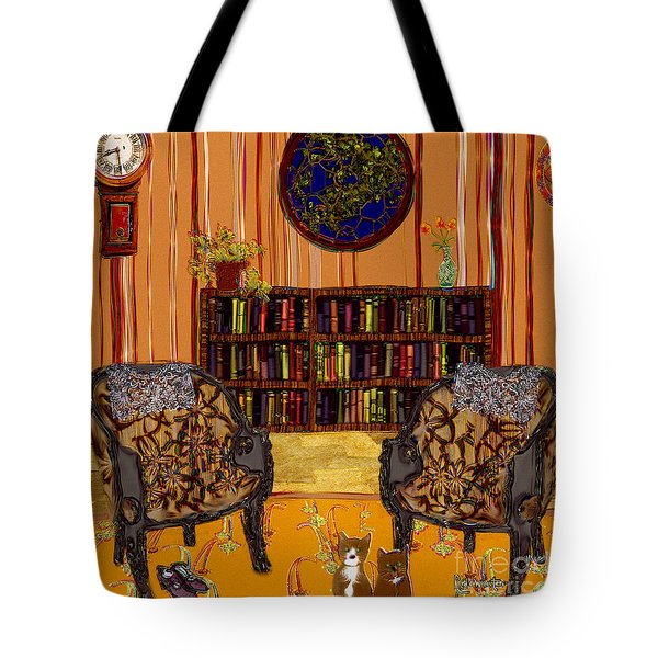 A Victorian Horror Tote Bag by RC deWinter