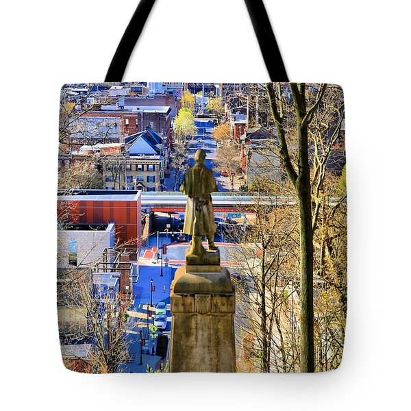 A View From College Hill Tote Bag