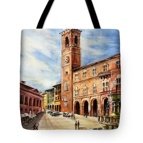 A View From Fabriano Tote Bag