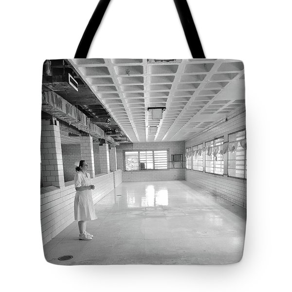 A View From Insanity Tote Bag