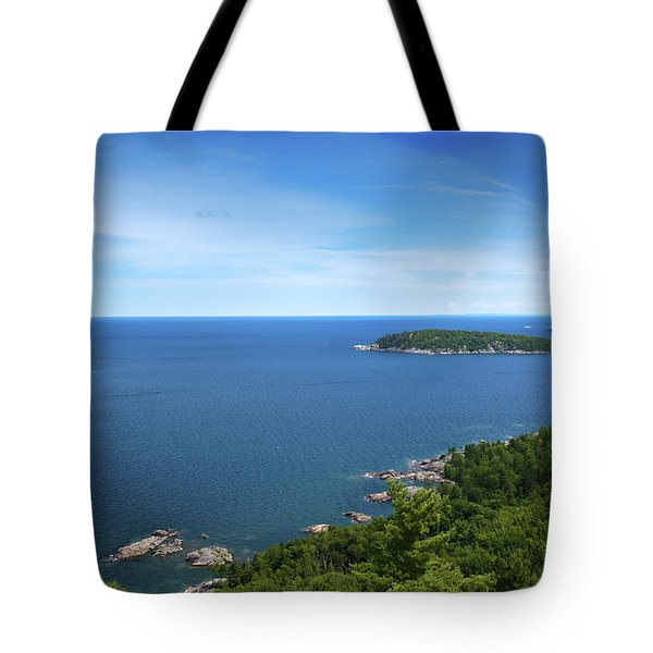 A View From Sugarloaf Mountain Tote Bag