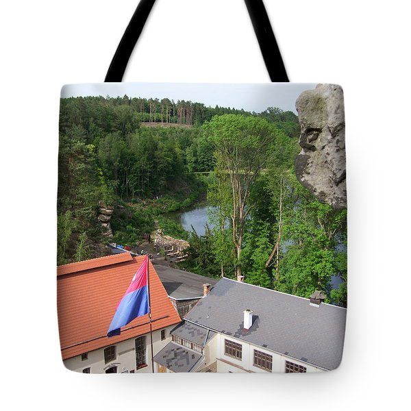 A View From The Castle Tote Bag